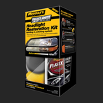 Heavy Duty Headlight Restoration Kit Ajovalomuovien kunnostussarja
